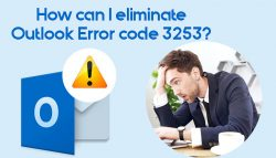 How can I eliminate Outlook Error code 3253?