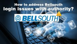 How to address Bellsouth login issues with authority?
