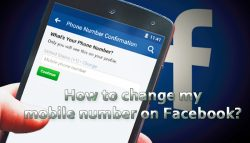 How to change my mobile number on Facebook?