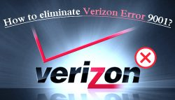 How to eliminate Verizon Error 9001?