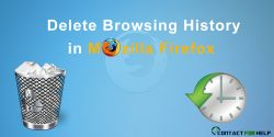 How to Delete Browsing History in Mozilla Firefox