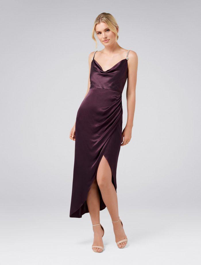 Juliette Trim Cowl Neck Midi Dress – Women's Fashion | Forever New