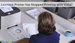 What to do if Lexmark Printer has stopped printing with Vista?