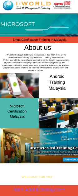 Linux Certification Training in Malaysia
