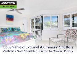 Louvreshield External Aluminium Shutters: Australia's Most Affordable Shutters to Maintain Privacy