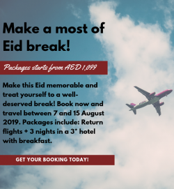 Air Arabia Eid Special Travel Booking Deals