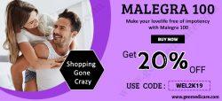 Malegra 100 online | sildenafil citrate 100mg buy in USA