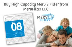 Buy High Capacity Merv 8 Filter from MervFilter LLC