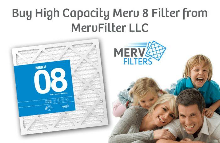 Buy High Capacity Merv 8 Filter from MervFilter LLC