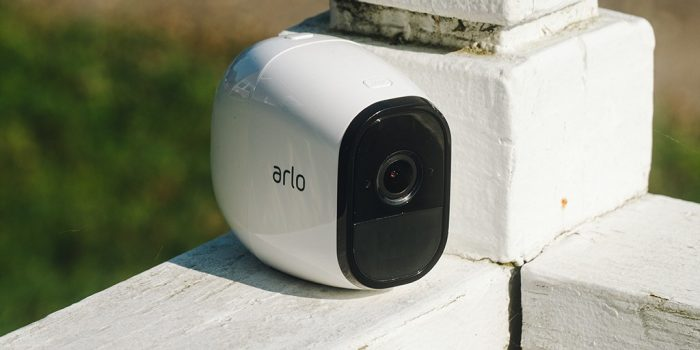 Steps for using the motion detection test for a smart Arlo device?