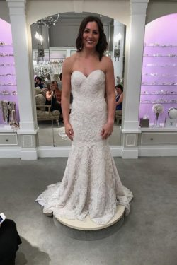 Designer Spitze Hochzeitskleider Online | Brautkleid Meerjungfrau Günstig
