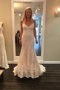 Schlichte Brautkleider Mit Spitze | Hochzeitskleider Meerjungfrau Onlin