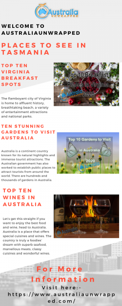Places to See in Tasmania