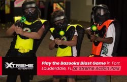 Play the Bazooka Blast Game in Fort Lauderdale, FL at Xtreme Action Park