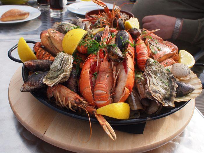 Santorini Greek Food