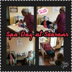 Spa Day At Seasons Alzheimer's Care and Assisted Living