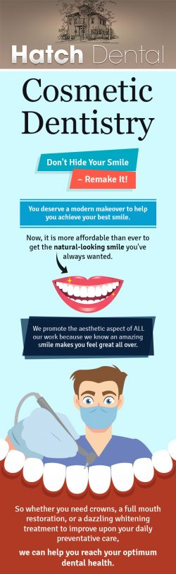 Transform Your Smile with Cosmetic Dentistry from Hatch Dental
