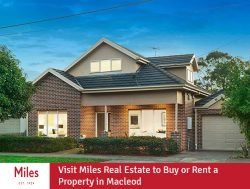 Visit Miles Real Estate to Buy or Rent a Property in Macleod