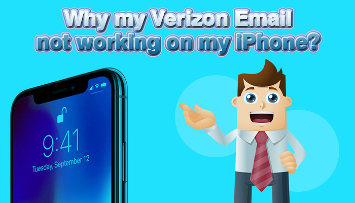 Why my Verizon Email not working on my iPhone?
