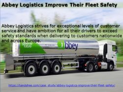 Abbey Logistics Improve Their Fleet Safety