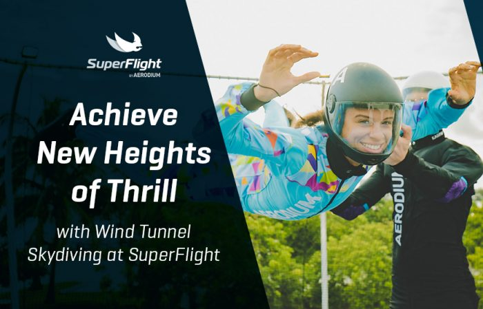 Achieve New Heights of Thrill with Wind Tunnel Skydiving at SuperFlight