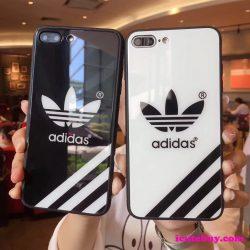 アディダス iPhone11ケース iPhone11Proケース iPhone11Pro Maxケース Adidas 白 黒 カジュアル系 アデ ...