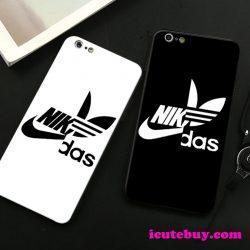 アディダス ナイキ コラボ iPhone11ケース iPhone11Proケース iPhone11Pro Maxケース ソフト 白 黒 赤 新品