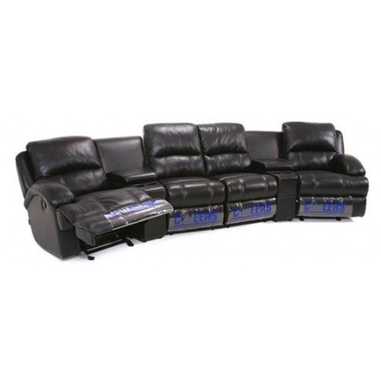 Arboga 6 Piece Leather Theatre Lounge Suite – Furniture Perth