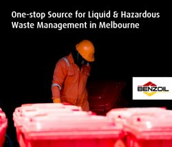 Benzoil – One-stop Source for Liquid & Hazardous Waste Management in Melbourne
