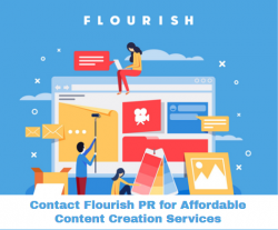 Contact Flourish PR for Affordable Content Creation Services