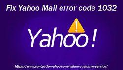Fix Yahoo Mail error code 1032