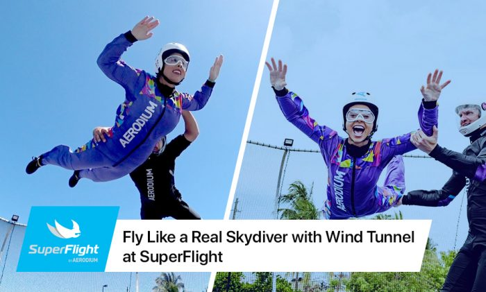 Fly Like a Real Skydiver with Wind Tunnel at SuperFlight