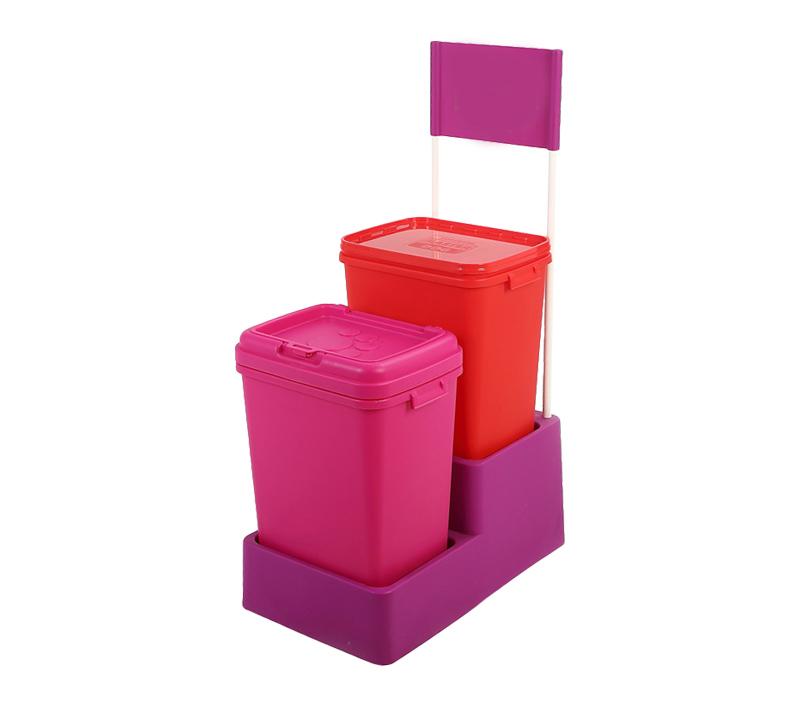 BRIGHT Plastic PET Food Container H513B(40L)