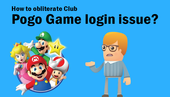 How to obliterate Club Pogo Game login issue?