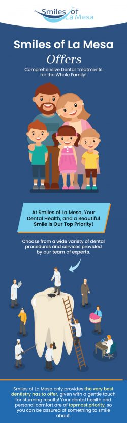 Smiles Of La Mesa – A Trusted Family Dentistry Services Provider in La Mesa, CA