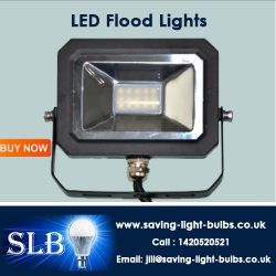 Buy LED Flood Lights at Saving Light Bulbs