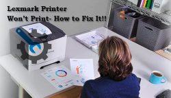 Lexmark Printer Won't Print- How to Fix It!!