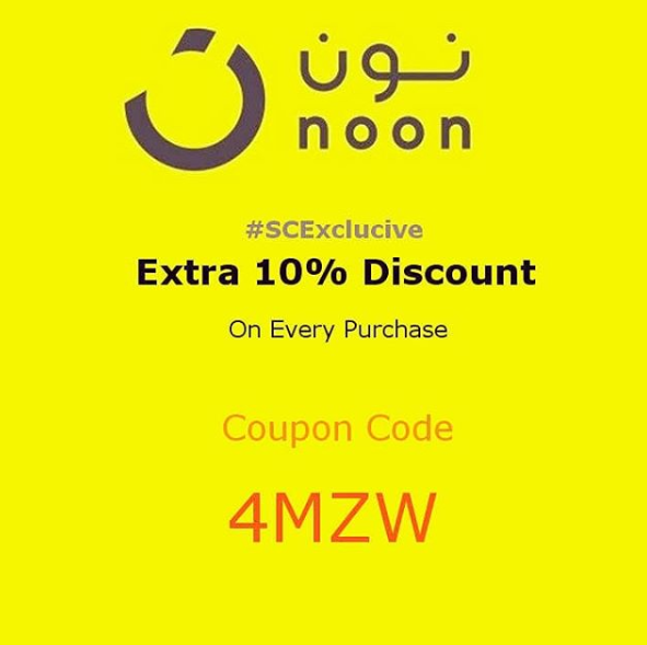 Noon Coupon Code