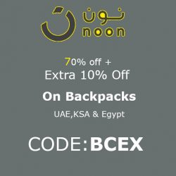Noon Backpacks Offer