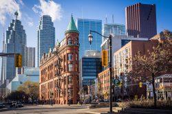 Toronto Gooderham Flatiron Building