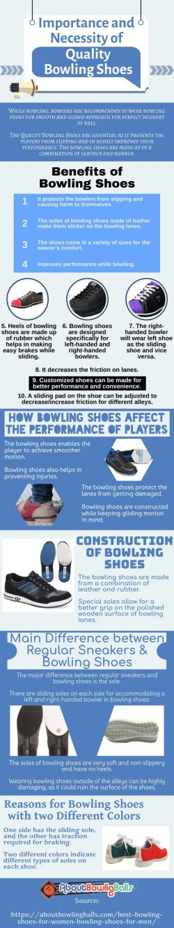 Good bowling shoes will not only improve your performance but also provide you with great comfort