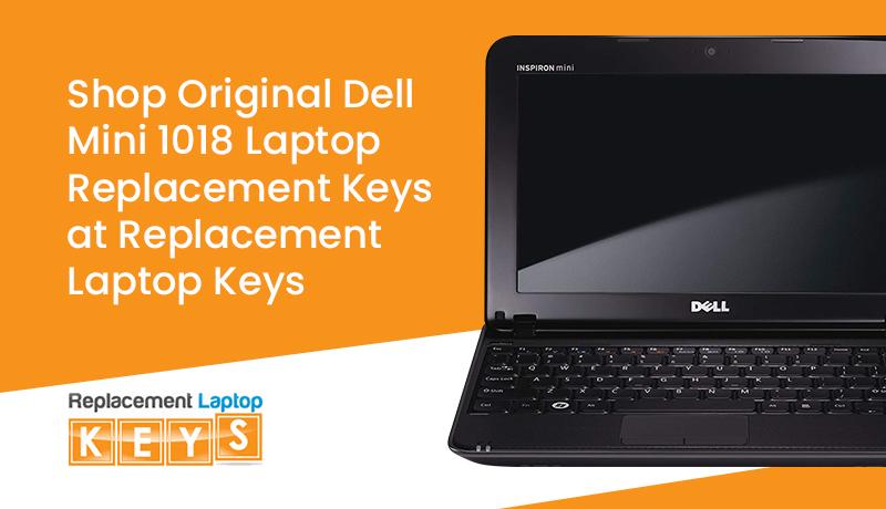 Shop Original Dell Mini 1018 Laptop Replacement Keys at Replacement Laptop Keys