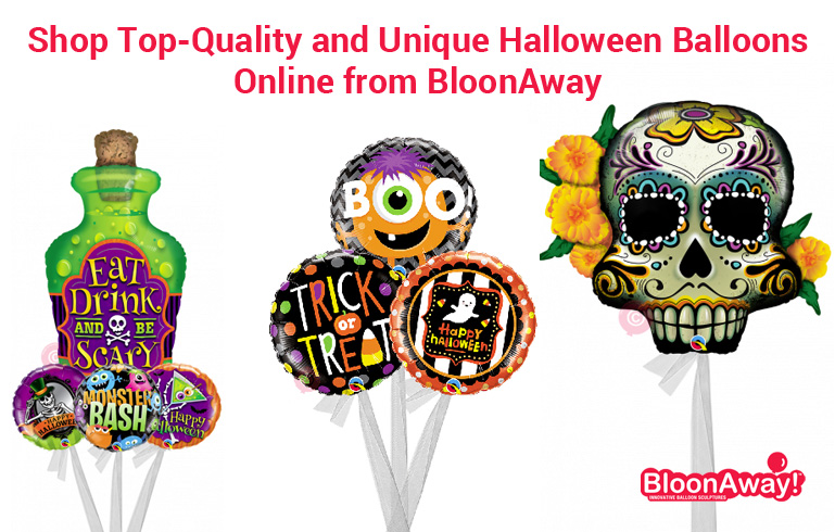 Shop Top-Quality and Unique Halloween Balloons Online from BloonAway