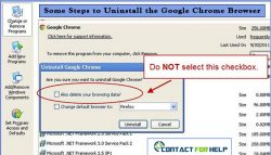 Some Steps to Uninstall the Google Chrome Browser