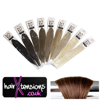 Stick Tip Hair Extensions In Colour Dark Chocolate Brown