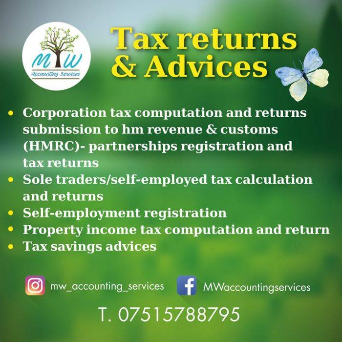 tax returns services london
