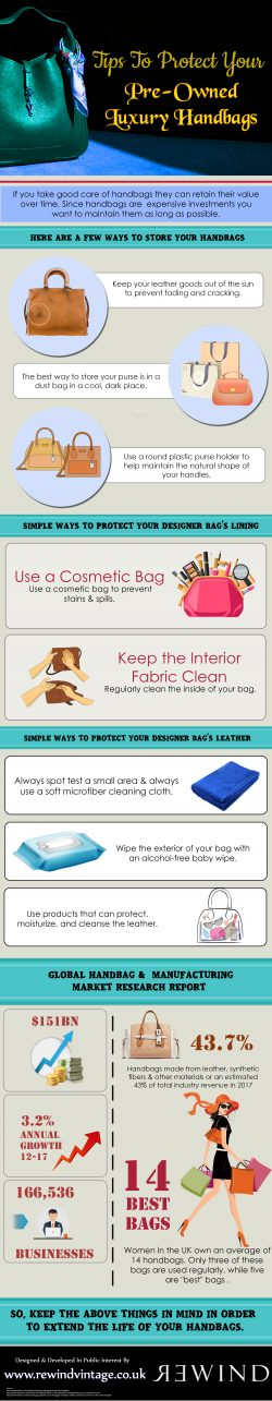 Tips To Protect Your Pre-Owned Luxury Handbags