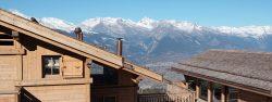 Ski chalet Switzerland