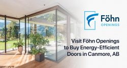 Visit Föhn Openings to Buy Energy-Efficient Doors in Canmore, AB