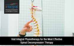 Visit Integral Physiotherapy for the Most Effective Spinal Decompression Therapy